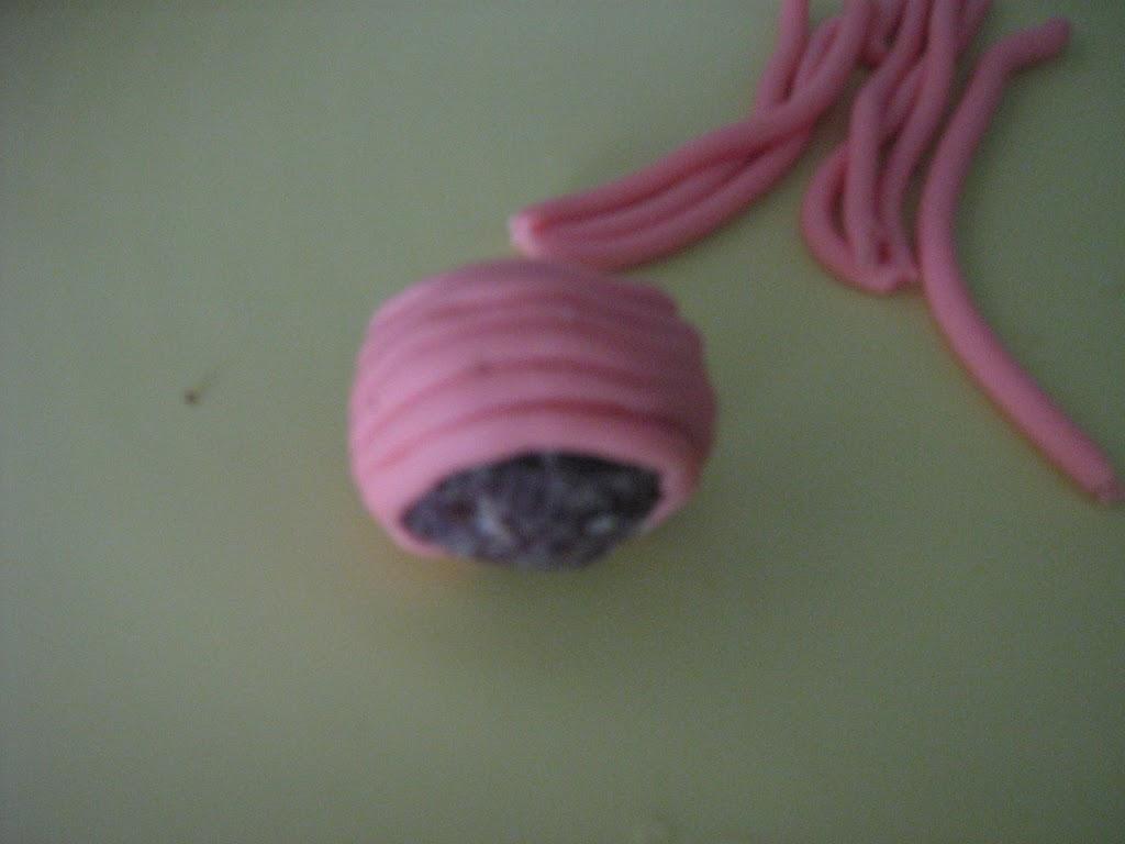 Cupcake con pulcino in pasta di zucchero