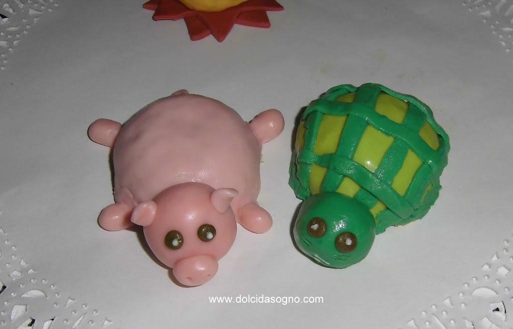 Maialino, tartaruga e sole a ferragosto…