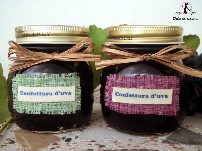 Confettura d'uva