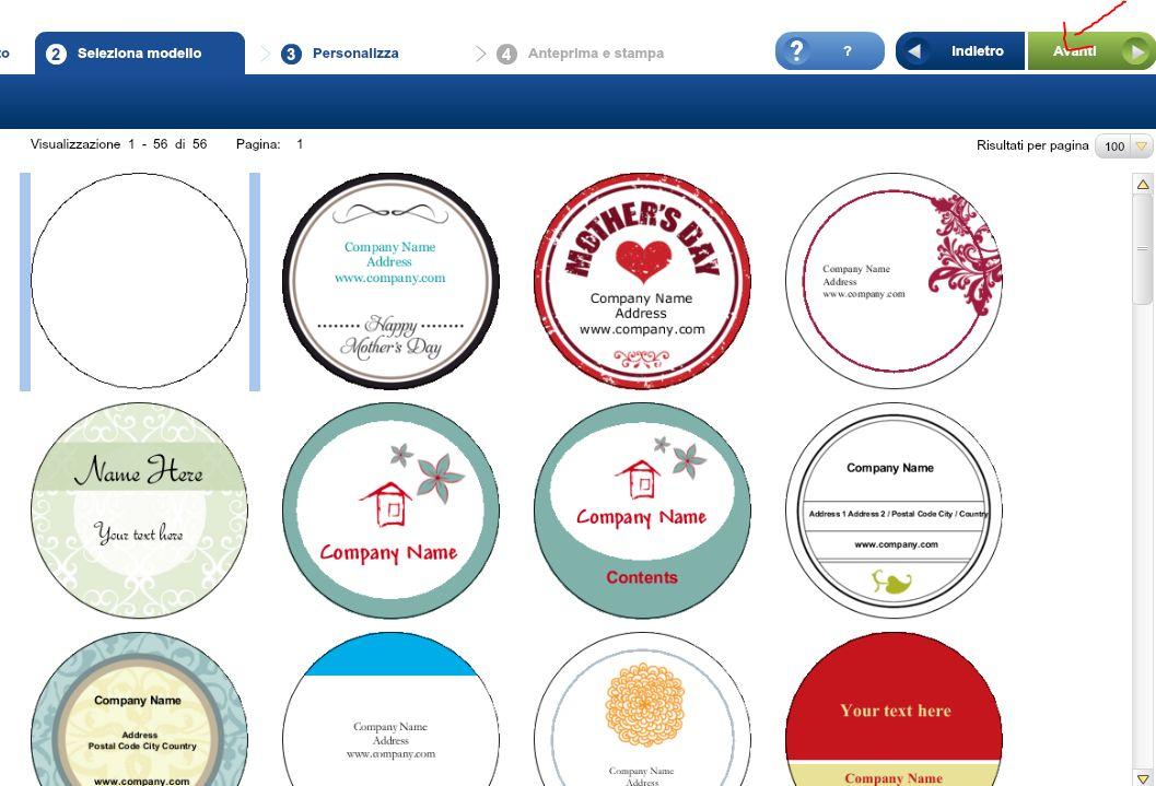 Come creare etichette per confetture marmellate liquori for Come costruire un programma online casa gratuitamente