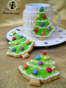 facili e allegri Facili biscotti ad alberello