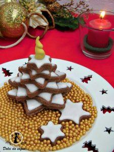 Biscotti albero di Natale in 3D