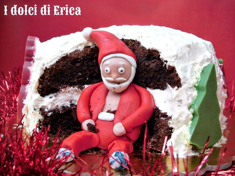 Torta Babbo Natale