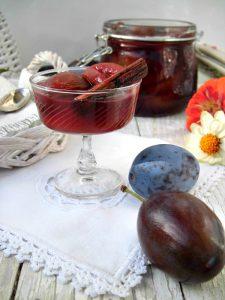 prugne al vino speziato
