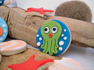 biscotto decorato polipetto