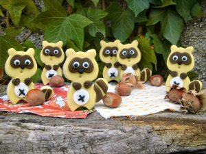 biscotti decorati procione