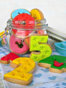 biscotti numerati di topolino