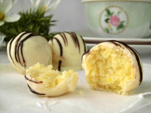 cake ball al limone