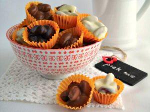 Mandorle al cioccolato