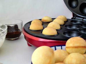 preparazione cake ball