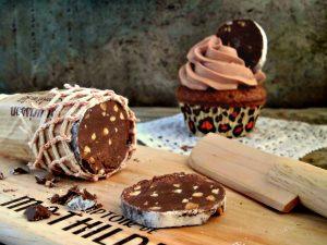 cupcakes al cioccolato con frosting al mascarpone