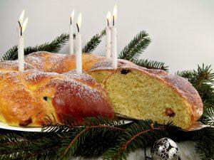 Saint Lucia's Braided Bread