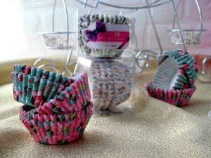 pirottini per cupcakes con gufetti