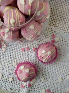cake balls valentine's day