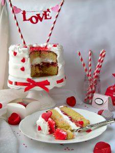torta semplice per san valentino