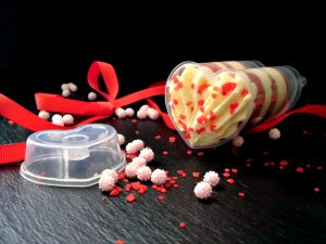 Push up cake pops per San Valentino