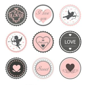 etichette san valentino