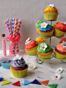 Cupcakes colorati