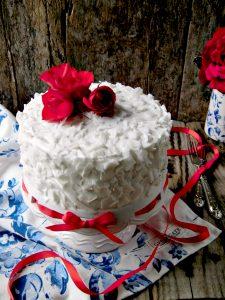 Torta al cocco o coconut cake