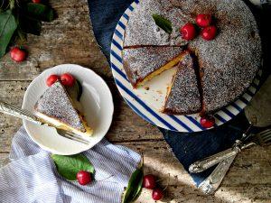 torta di ciliegie soffice