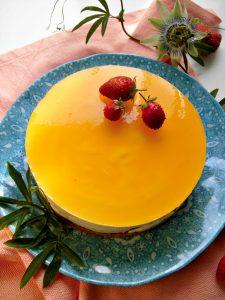 Cheesecake ai frutti della passione