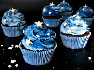 cupcake con stelle