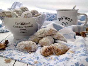 biscotti di pastafrolla alle noci