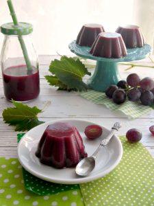 Ricetta per preparare il gelo di uva