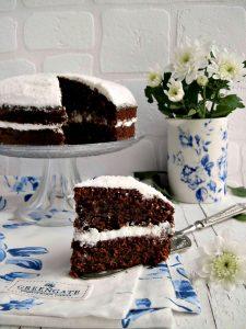 collaborazione GreenGate torta cocco cacao e panna