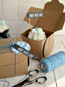 selfpackaging cupcake