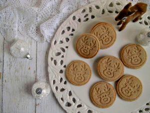 biscotti con renna per Natale