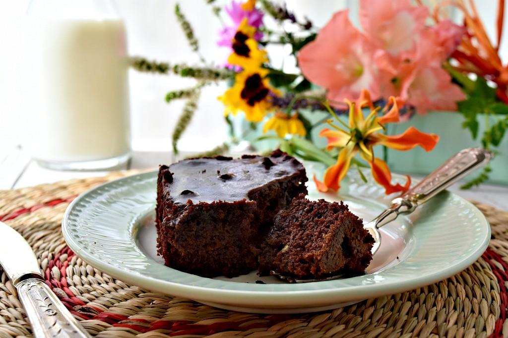 brownies cioccolto e zucchine