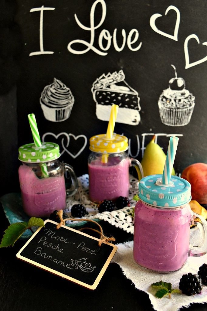 Smoothie con more