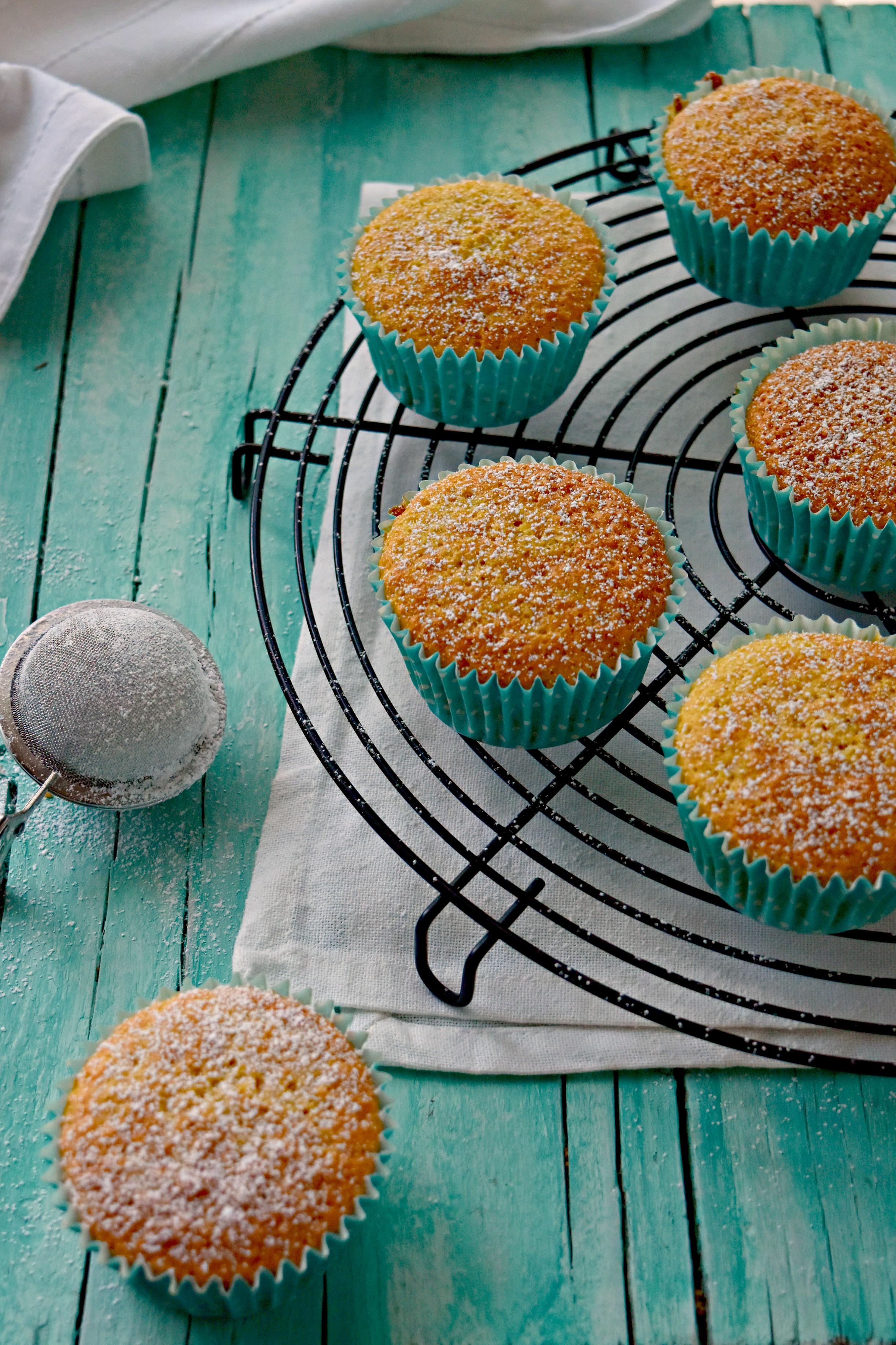 Cupcake al cocco, ricetta veloce.