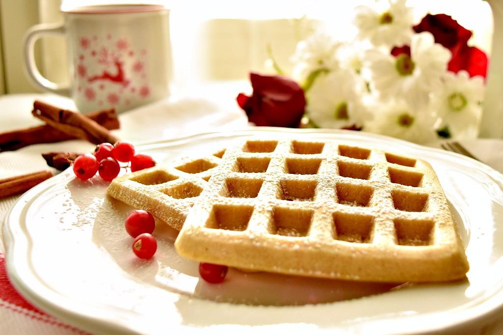 waffle alla cannella