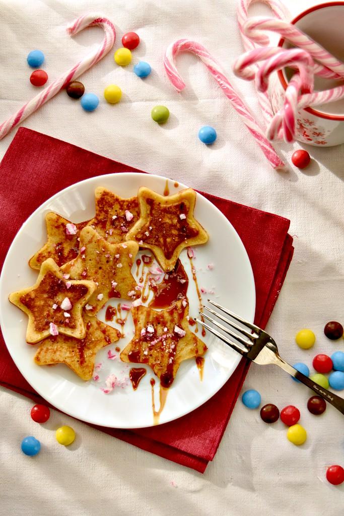 Stelle di pancake per i giorni di festa