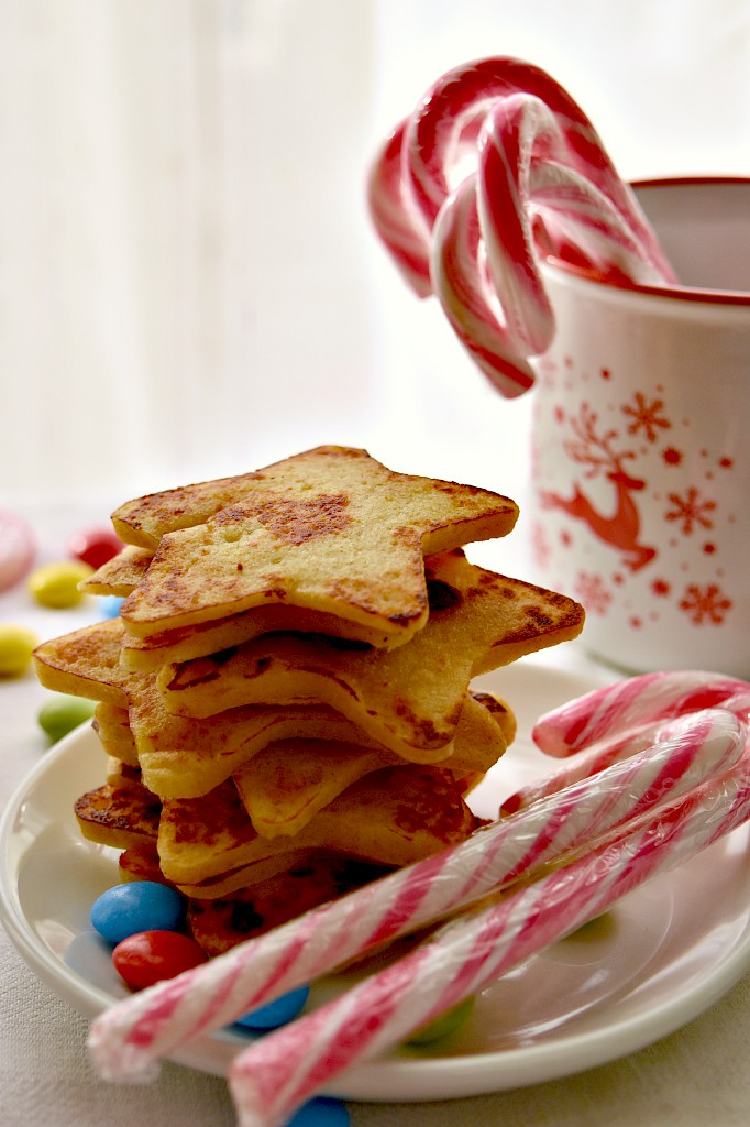 Stelle di pancake ricetta per bambini