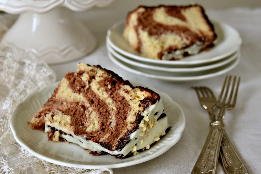 Chiffon Cake marmorizzata
