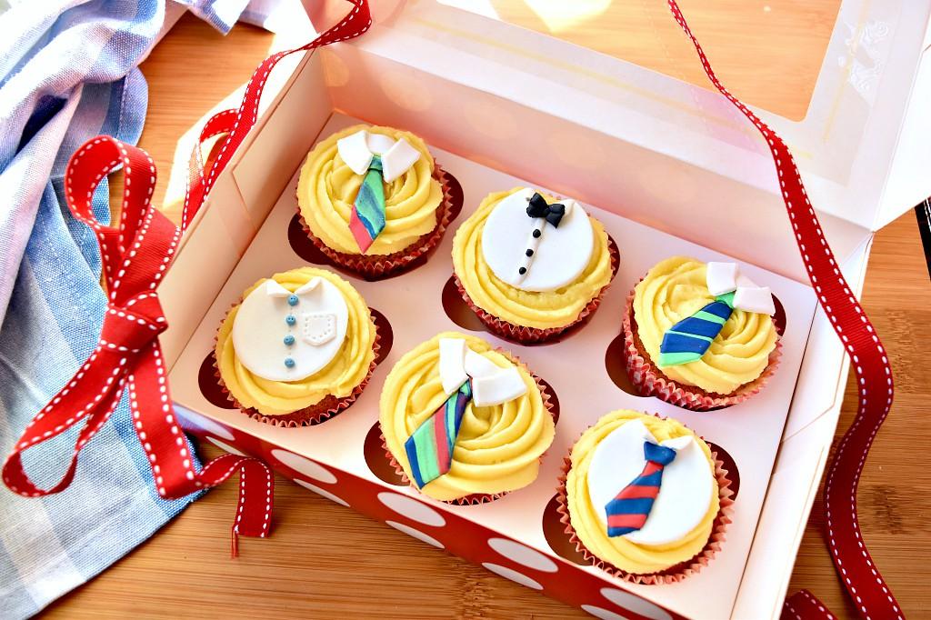 Cupcake per la festa del papà