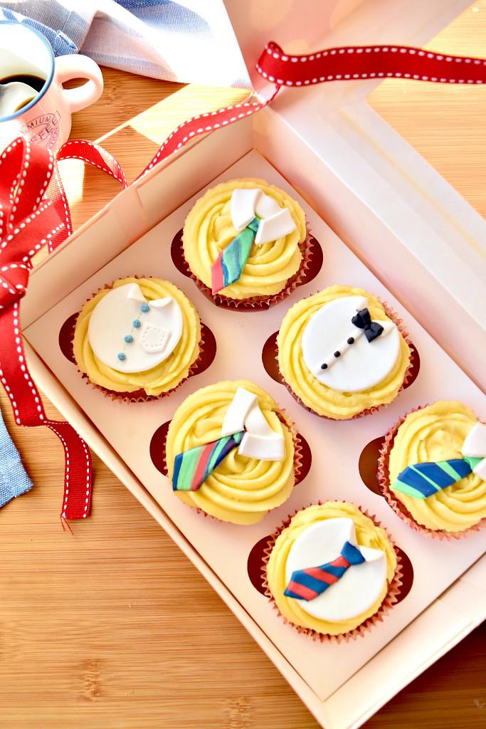 Cupcake per la festa del papà, per festeggiare in allegria