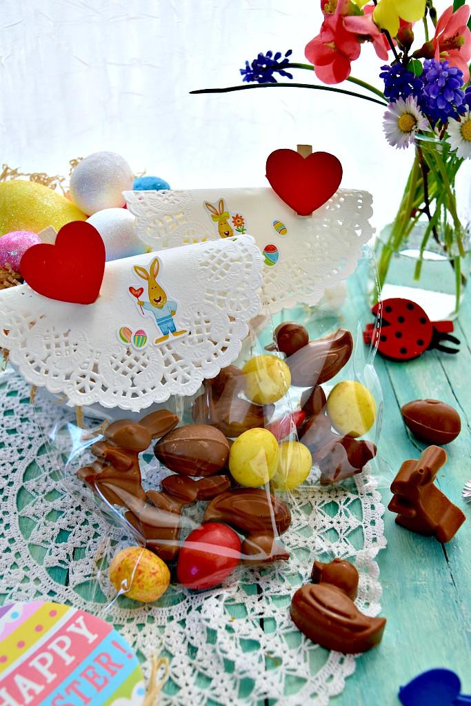 Cioccolatini di Pasqua per regali homemade