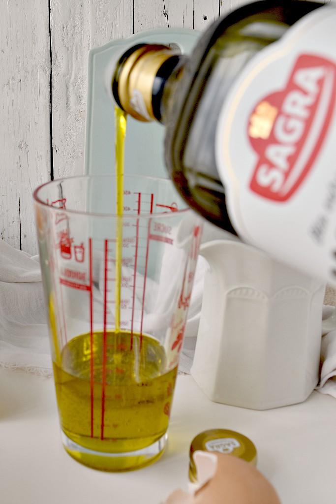 Ciambella con olio di oliva