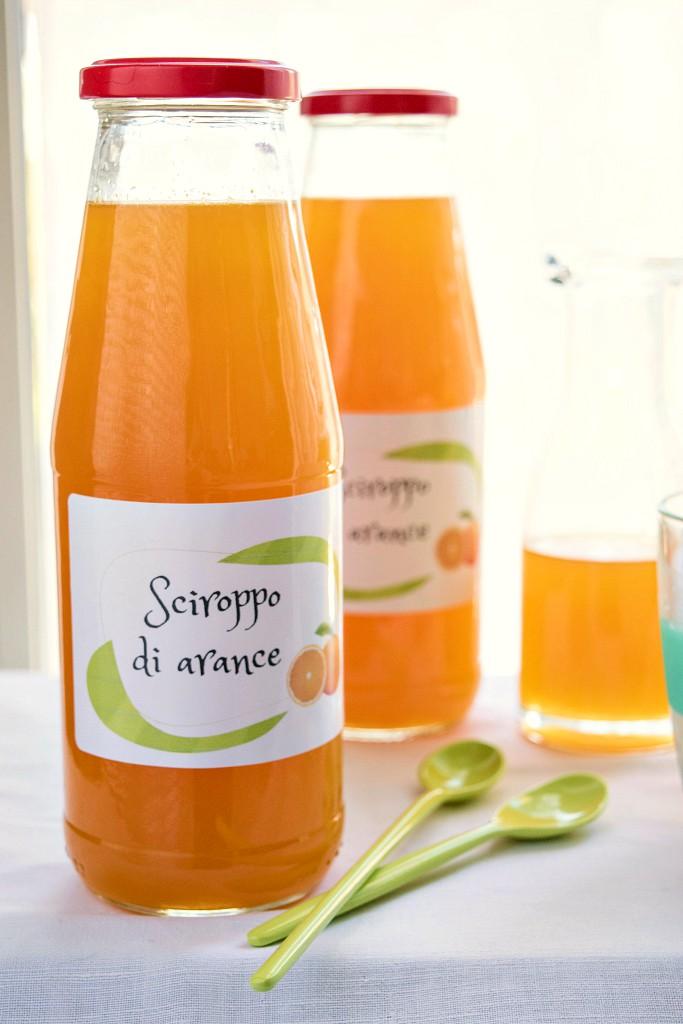 Sciroppo di arance fatto in casa, ricetta facilissima