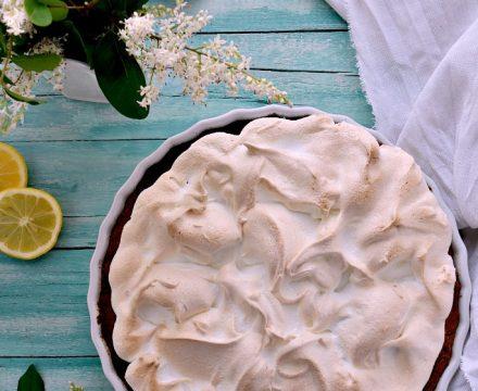 Crostata meringata al limone o Lemon meringue pie