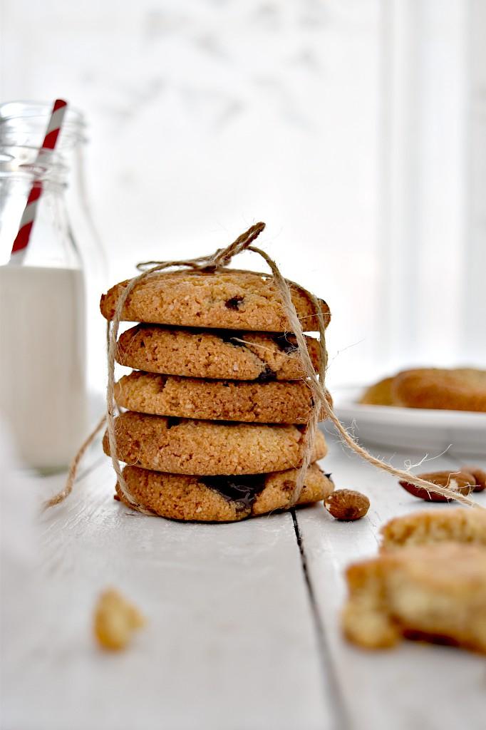 Cookies con farina di mandorle