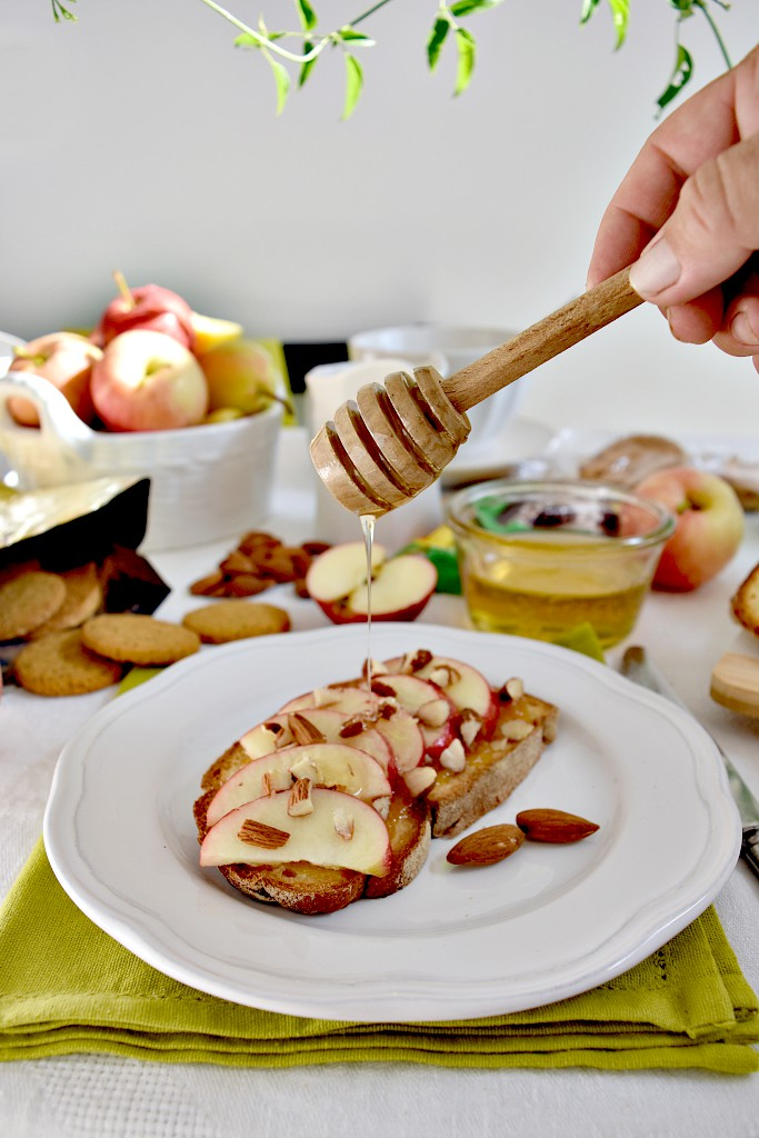 Pane senza glutine mele e miele