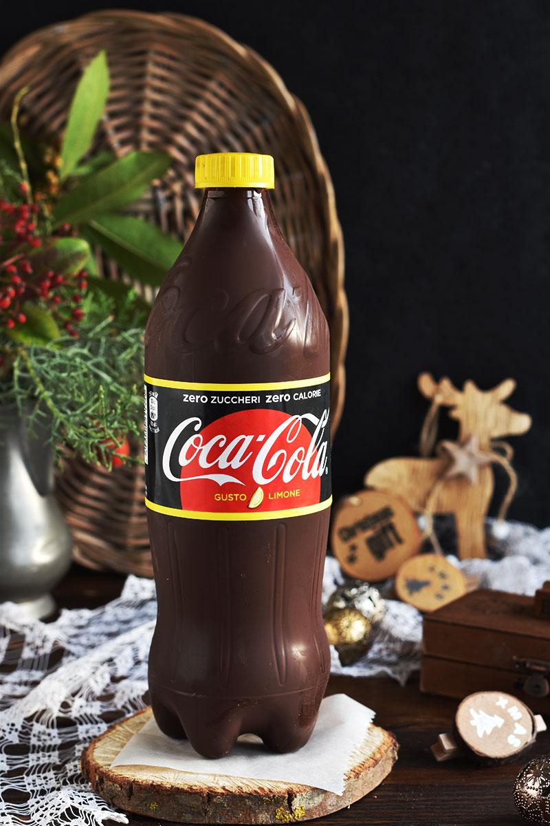 Torrone a forma di bottiglia di Coca Cola