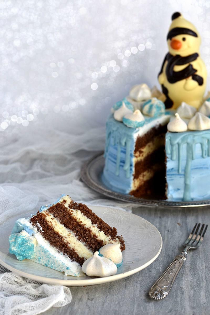 snoe man cake