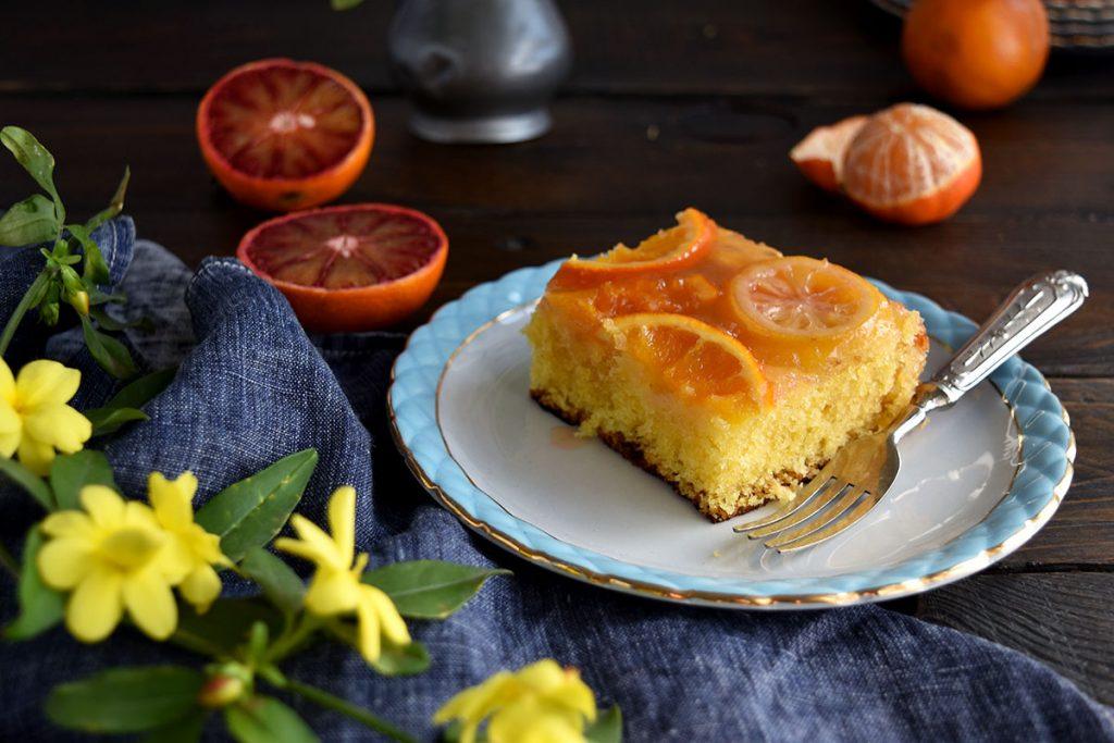 citrus upside down cake gluten free