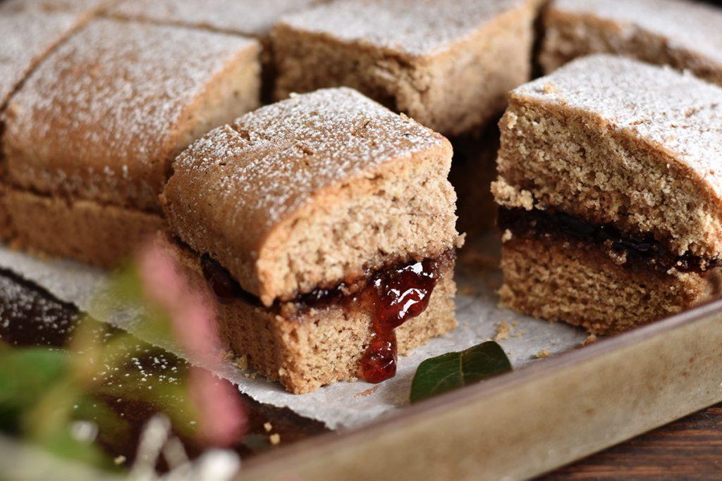 Buckwheat cake